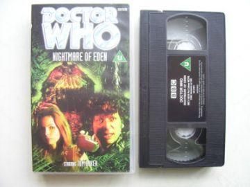 Doctor Who Nightmare of Eden  RARE Tom Baker